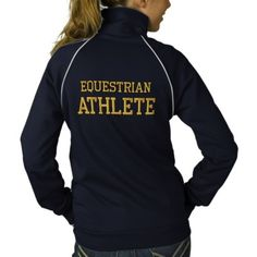 Equestrian Athlete Embroidered Jacket   Zazzle