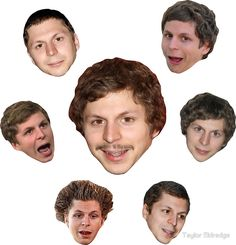 The Holy Seven Forms of Michael Cera by Taylor Eldredge