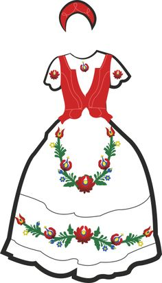 Hungarian Embroidery, Learn Embroidery, Culture Day, Free Coloring Pages, Embroidery Techniques, Chain Stitch, Hungary, Paper Dolls, Embroidery Designs