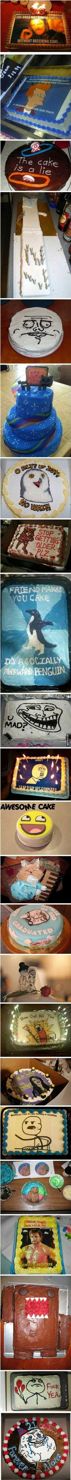 Awesome meme cakes!