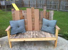 15 DIY Outdoor Pallet Bench | Pallet Furniture Plans #bench #patio #deck #decor #garden