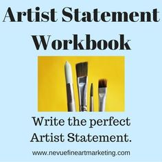 Do you need to write an artist statement if you are selling art online? Do you need an artist statement if you sell art at craft shows? The truth is, you should have an artist statement no matter w… Selling Art Online, Online Art, Artist Branding, Artist Resume, Face Painting Designs, Art Market, Art Lessons, Painting Lessons, Painting Tips