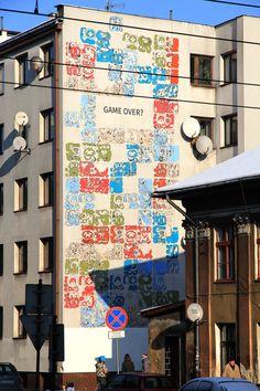 Mayamural, day 5, last. 9/18 Day 5, last. #maya #mural #cracow #2012 #graffiti #streetart Cracow, Poland.