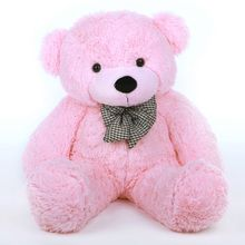 She's perfectly pink for Spring and Easter baskets!  2 1/2 foot Lady Cuddles Soft and Huggable Huge Pink Teddy Bear (30in)