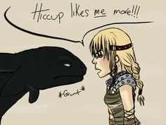 HTTYD - Fight for Hiccup by matalic-butterfly.deviantart.com on @deviantART