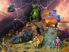 Toys Photography, Hulk, Diorama, Masters, Cool Art, Action Figures, Cartoons, Creativity, Geek Stuff
