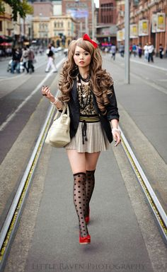 804528beef5 Chic Harajuku Streetwear Style w  Akira Furukawa Half-Vest