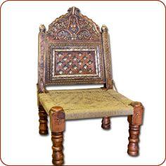 Moroccan Chair, Indian Tribal Chair, Berber Tribal Art, Tribal Design, and Tribal Furniture, Tribal Design, Indian Chair, Tribal chair, Low ...