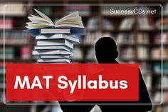 The MAT exam consists of objective type questions. The candidates have to select the correct answer out of the given options. Entrance Exam, The Selection, This Or That Questions, Type