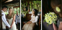 Boho Literary Themed Beach Wedding by Andrea Carlyle River Lodge, Real Weddings, Boho, Beach, The Beach, Beaches, Bohemian, Boho Aesthetic