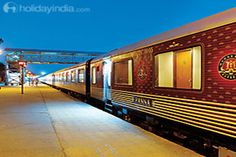 Get train packages, luxury train packages online with available deal on all packages like that Maharaja Express Train, Royal Rajasthan on Wheels, Luxury Train Tour Packages and Train Holiday Packages.