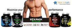 #Sixpack nutrition's Bulk is a rapid gain formula with an optimum combination of carbohydrates and protein in the ratio 5:1. offering 10% discount on MRP. 3100 @ just Rs.2800