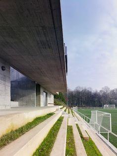 Vestuarios para campo de fútbol en Vilalba