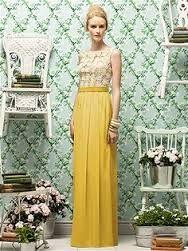 lemon coloured bridesmaid dresses - Google Search