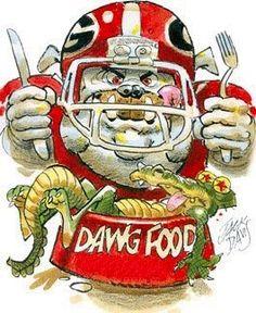 Dawg Food by Jack Davis