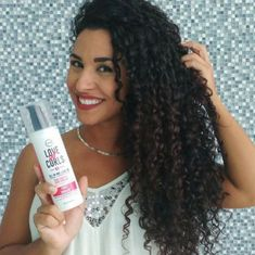 Healthy, beautiful, soft curls with ONE product! Welcome to the LUS life! Healthy, beautiful, soft curls with ONE product! Welcome to the LUS life! Curly Hair Routine, Curly Hair Tips, Curly Hair Care, Curly Hair Styles, Natural Hair Styles, Black Curly Hair, Products For Curly Hair, Curly Braids, Curly Girl