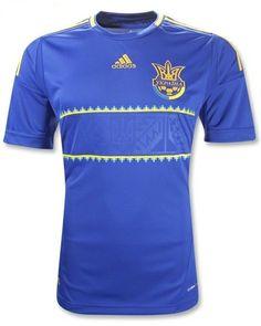 Ukraine Adidas Away Shirt Euro 2012