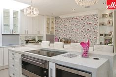 Easylife Kitchens Is A premium Kitchen Manufacturing and Design Company With Over 26 Years Experience, We install Kitchen, Bathroom Vanities and Built in Cupboards Life Kitchen, Kitchen Reno, Kitchen Design, Kitchen Island, Built In Cupboards, White Cupboards, Island Design, Storage Design, Pink Walls