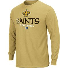 New Orleans Saints Critical Victory Long Sleeve T-Shirt - NFLShop.com