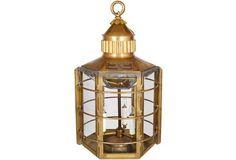 Scottish Clipper Ship Lantern
