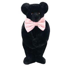 """15"""" Classic Black Bear from Vermont Teddy Bear. $49.99 #Classic #Gift #TeddyBear"""