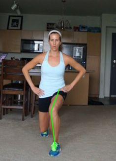 How to resolve inward knee drop, causing runner's knee and IT Band