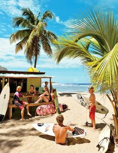 """When galloping gourmet Anthony Bourdain ate at this Playa Jobos, Puerto Rico, spot, he declared, """"Food tastes better when you're not wearing shoes. Oh The Places You'll Go, Places To Visit, Pointe À Pitre, Puerto Rico Trip, Porto Rico, Exploration, Beach Bars, Beautiful Islands, Viajes"""