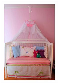 My next project. Making use out of my LO's old cot.