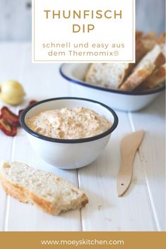 Schneller Thunfisch-Dip aus dem Thermomix Recipe for quick and easy tuna dip from the Thermomix Tuna Recipes, Dip Recipes, Salmon Recipes, Sauce Recipes, Potato Recipes, Summer Recipes, Tuna Dip, Sweet Potato Crisps, Strawberry Crisp
