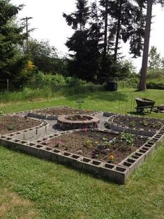 Genius Ways People Are Using Cinder Block Garden