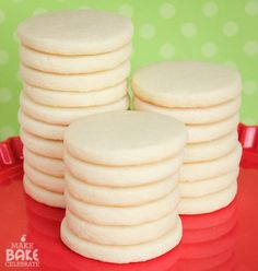 Perfect Sugar Cookies for Holiday Decorating
