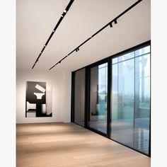 Art Gallery Lighting Inspiration 28 Ideas For 2019 Flexible Track Lighting, Modern Track Lighting, Office Lighting, Living Room Lighting, Interior Lighting, Home Lighting, Lighting Design, Corridor Lighting, Linear Lighting