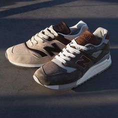 New Balance 997 & 998 Made in the USA // Available now at Select Undefeated Chapter Stores and Undefeated.com