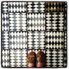 Floor Pattern Handmade tiles can be colour coordinated and customized re. shape, texture, pattern, etc. by ceramic design studios