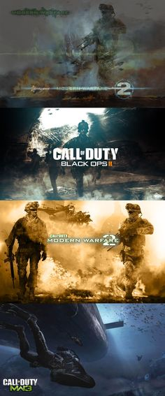 The evolution of the Modern Warfare Franchise, it's loved and hated by almost everyone. I honestly like the short campaigns, but then again you could probably convince me to play any FPS