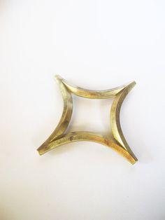 Futagami Brass Trivet - Star