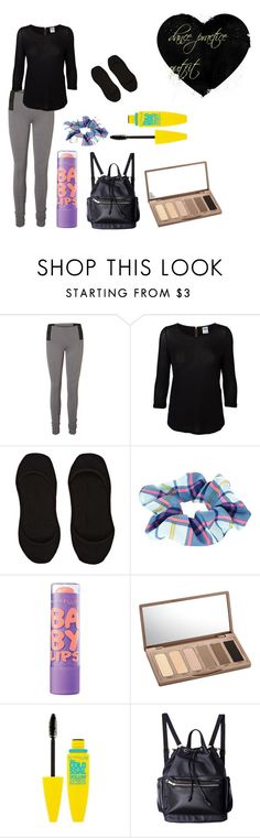 """""""dance practice"""" by nouks12345 ❤ liked on Polyvore featuring Vero Moda, River Island, Maybelline, Urban Decay, casual, dance, practice and dancer"""