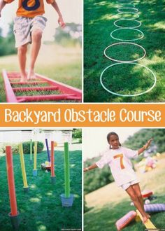 Awesome list of backyard activities for the Family