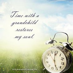 Time spent with grandchildren is the greatest feeling. So alive and refreshing. Grandmother Gifts, Grandma And Grandpa, Grandmother Quotes, Grandmothers, Love Mom, Baby Love, How I Feel, How Are You Feeling, My Children Quotes