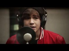 Studio Session with Austin Mahone - McDonalds commercial