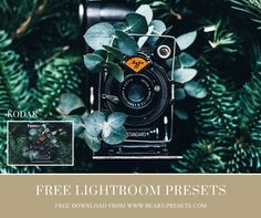 Film VSCO inspired Lightoom presets free download