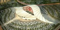 The 2022 FIFA World Cup which is scheduled to hold in Qatar is the edition of the FIFA World Cup. It is tagged Qatar The event will be the Organic Architecture, Futuristic Architecture, Amazing Architecture, Conceptual Architecture, Amazing Buildings, Temporary Architecture, Green Architecture, Architecture Design, Soccer Stadium