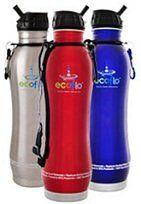 Water bottle for on site - filter the Florida taste out of hotel water