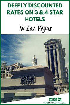Deeply Ed Rates On 3 4 Star Hotels In Las Vegas
