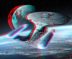 Photo by Russ Jones Glitch, 3d Pictures, 3d Glasses, 3d Photo, Red Aesthetic, Fun At Work, Star Trek, Illusions, Red And Blue