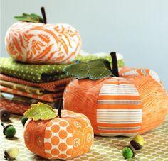 Patchwork Pumpkins pattern on Craftsy.com