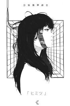 Cyberpunk Workpieces 2 by Park JunKyu. Cyberpunk Anime, Arte Cyberpunk, Cyberpunk Aesthetic, Cyberpunk Girl, Cyberpunk Character, Cyberpunk Tattoo, Aesthetic Anime, Aesthetic Art, Anime Art Girl