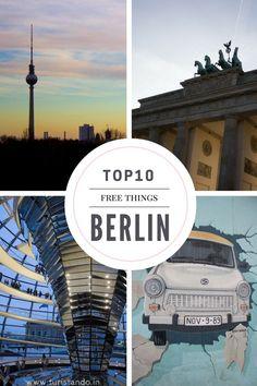 Tem muita, mas muita coisa para visitar em Berlim e foi muito difícil escolher apenas 10 atrações pela cidade.  Quando comecei a escrever o post, vi que estava ultrapassando 20 lugares e que o post iria ficar imenso. Reduzi para os locais que estão no centro turístico da cidade e que, para a nossa sorte, são grátis!: