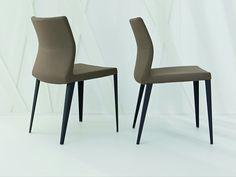 Silla tapizada de tela con funda extraíble RAZOR by Bonaldo | diseño Mauro Lipparini