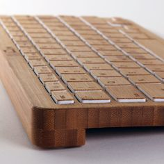 Bamboo Tech Accessories. I want wood grain everything. Why do all tvs have to be black and silver?